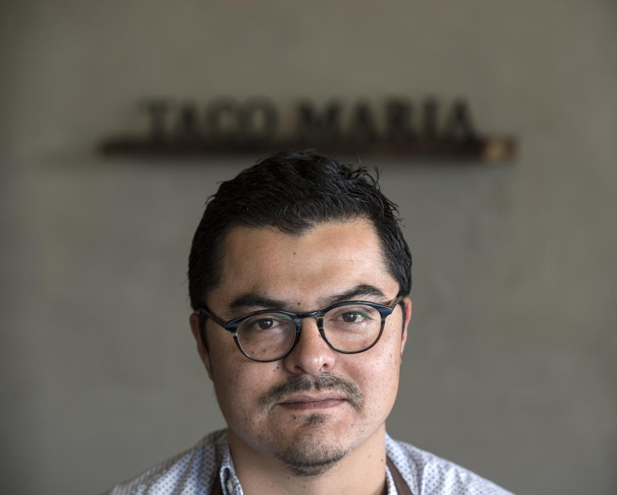CHEF CARLOS SALGADO AND TACO MARIA  EARNCOVETED MICHELIN STAR