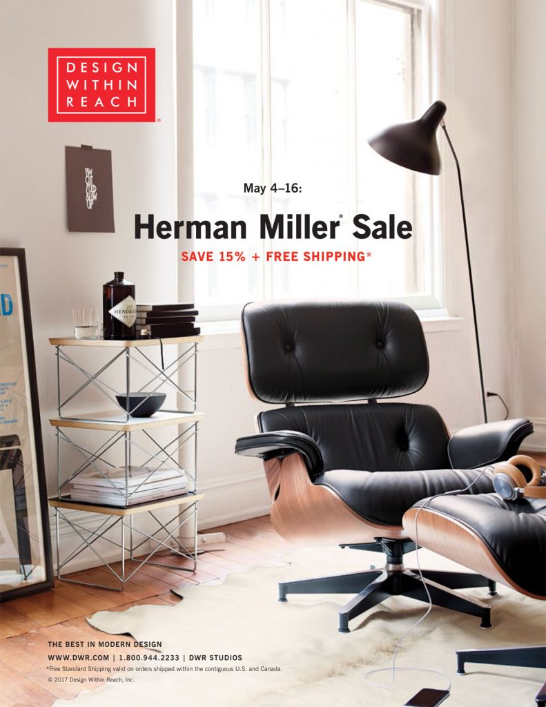Save 15% And Enjoy Free Standard Shipping On Specially Marked Products From  Herman Miller. Discount Applies To Merchandise Only, Excluding Gift Cards,  ...
