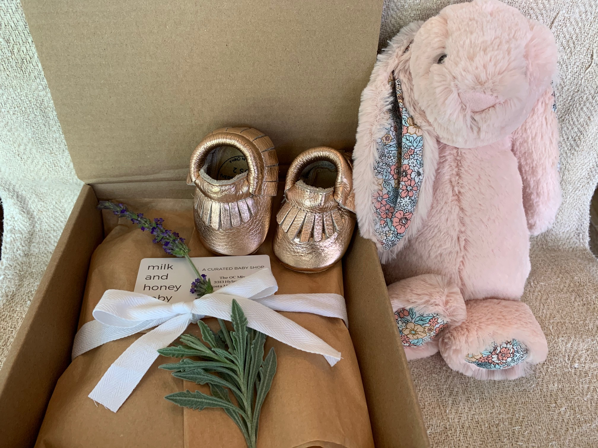 Just in Time: New Limited-Edition Easter Boxes from Milk & Honey Baby