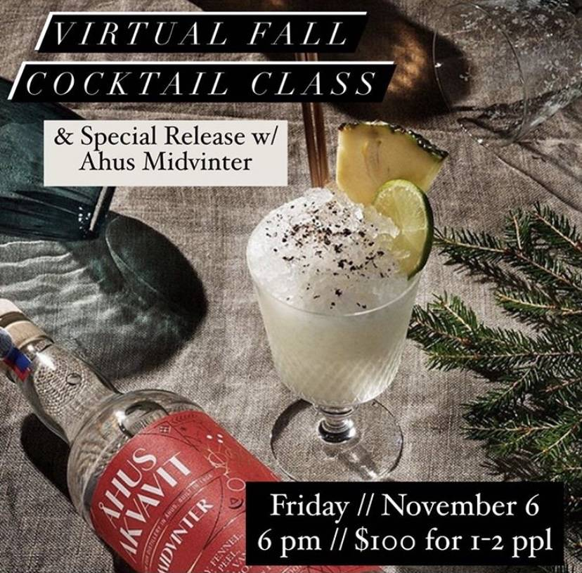 The Mixing Glass: Curated Cocktail & Knowhow Virtual Event