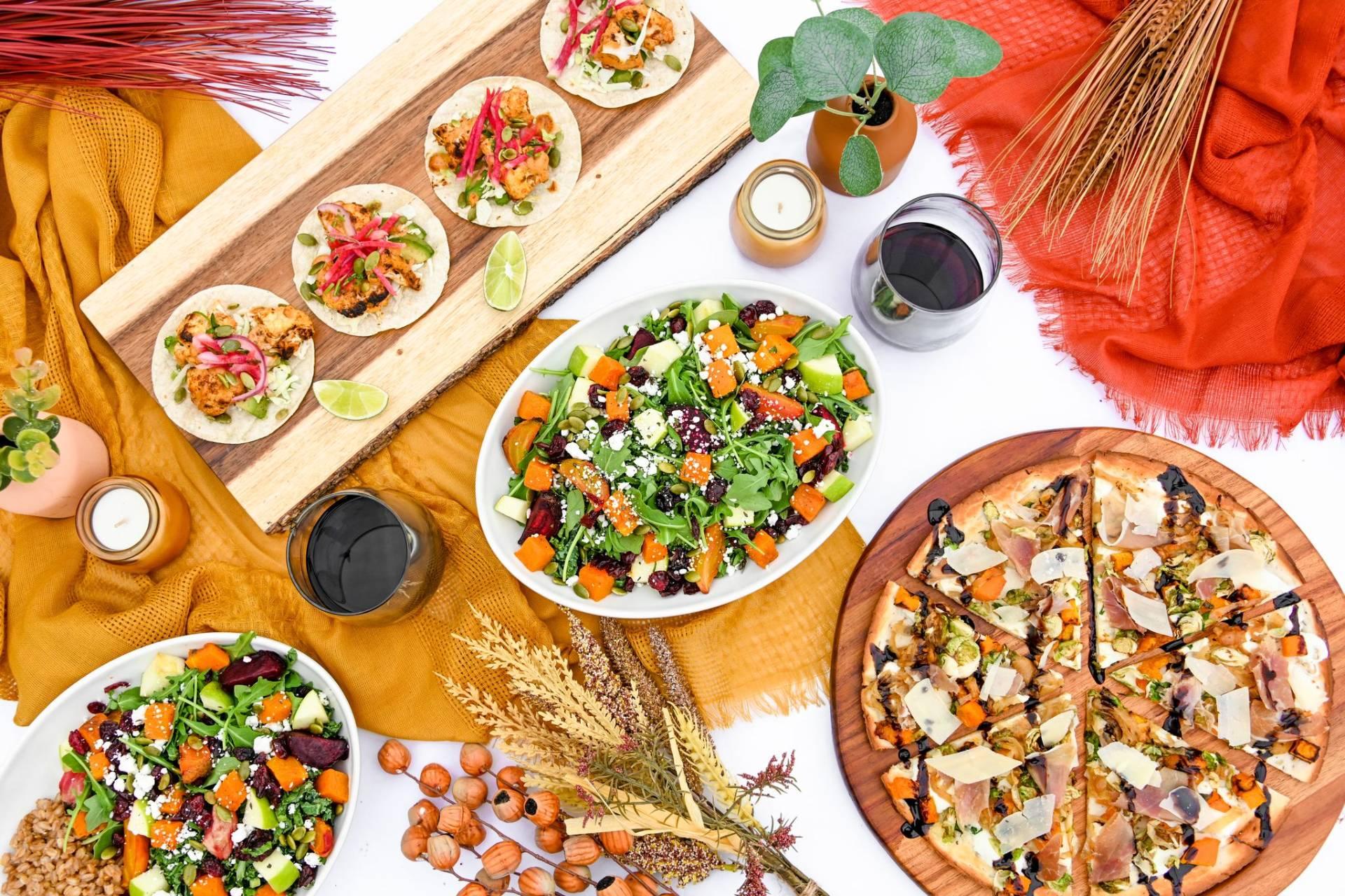 Greenleaf's New Healthy Harvest Menu!